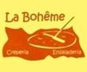 Crepes saladas: Carta de Crepería La Bohême