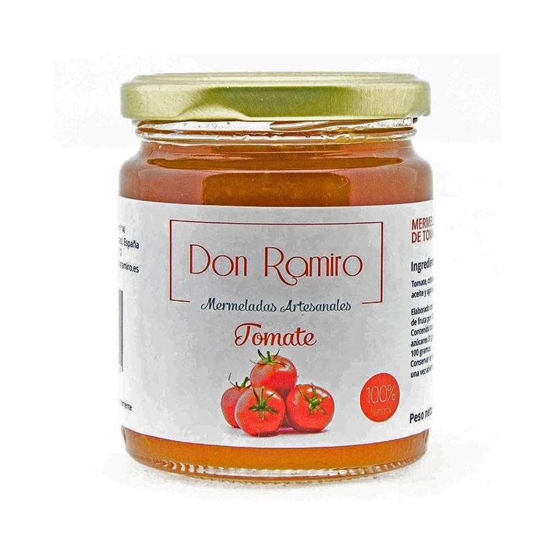Mermelada de tomate artesanal sin colorantes ni conservantes.