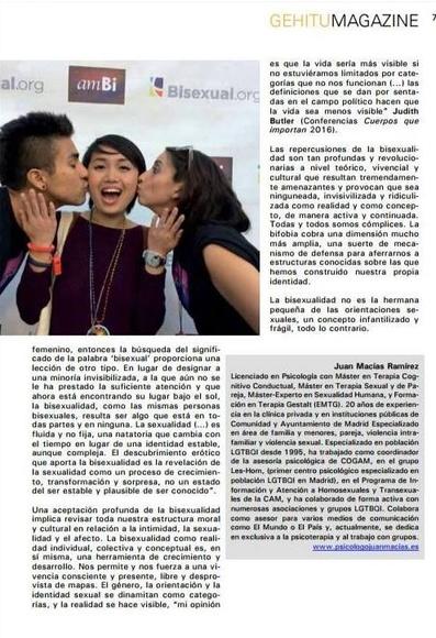 Publicación en Gehitu Magazine