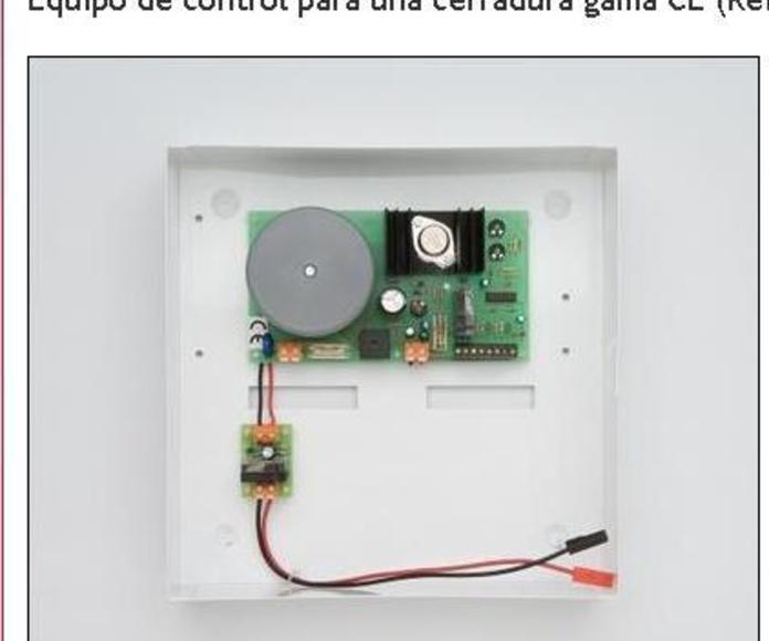 Equipos electrónicos para el control de cerraduras eléctricas y motorizadas