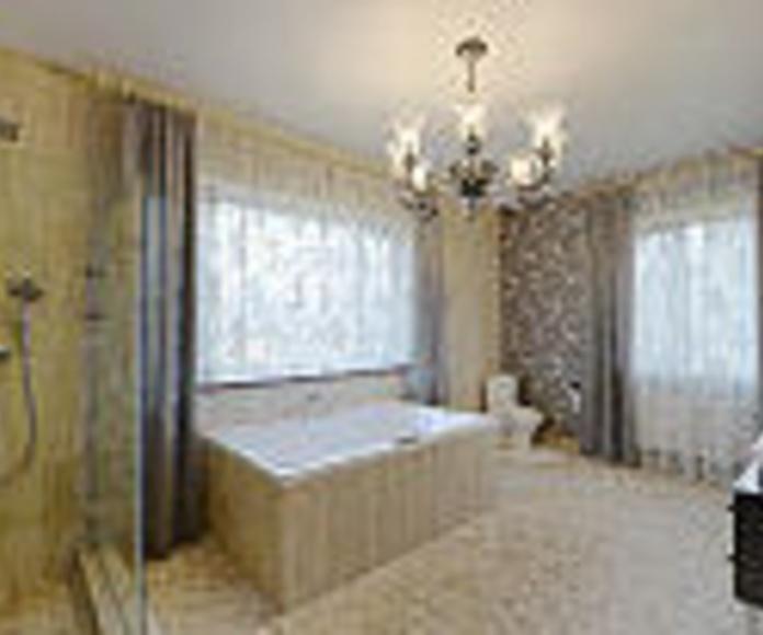 Presupuesto para reformar baño de piso en Pinto