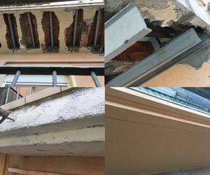 Reparación de cantos y forjado de los balcones, en Tarragona.