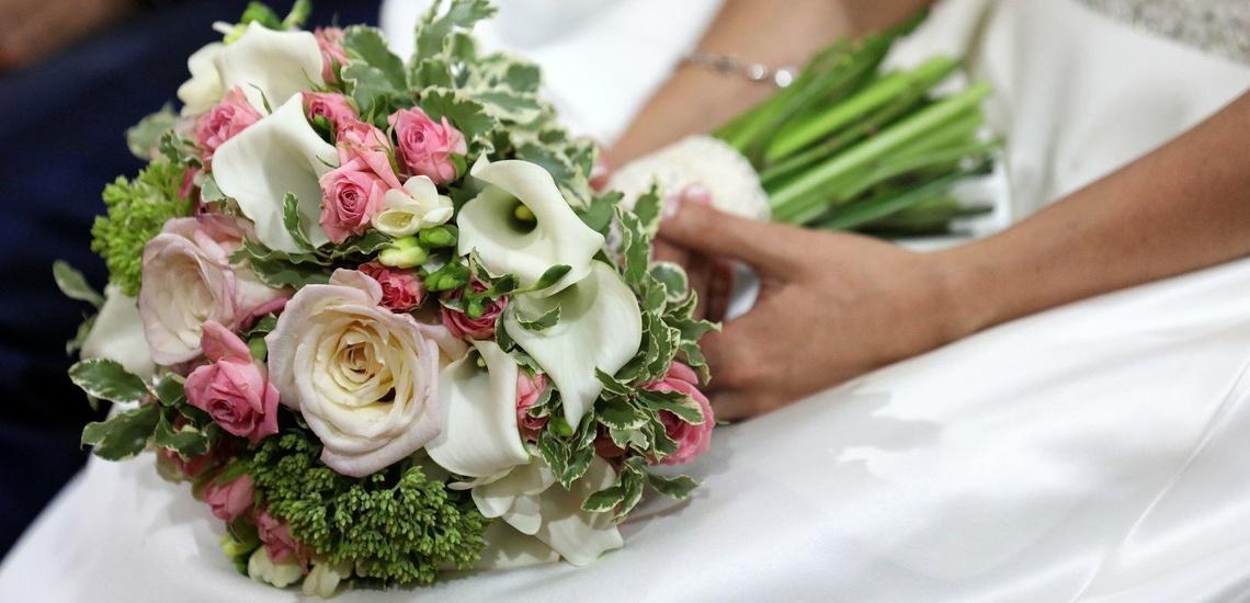 Ramos de flores para novias en Antequera