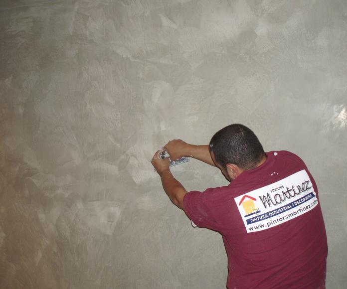Campo de aplicación de la pintura decorativa