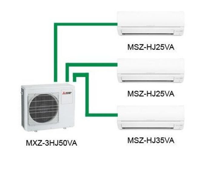 Serie MSZ-DM35VA: Aparatos de aire acondicionado de Instalaciones Hermanos Munuera