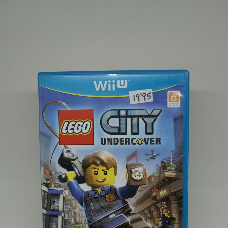 WII U LEGO CITY UNDERCOVER: Compra y Venta de Ocasiones La Moneta