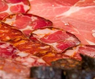 Platos: Especialidades y Platos de Bar Bodegas Leyre