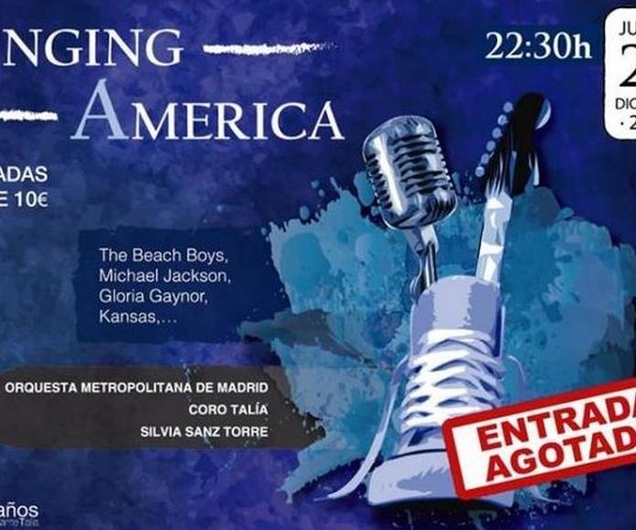"""Entradas Gratis para el Concierto """"Singing America"""" en el Auditorio Nacional"""
