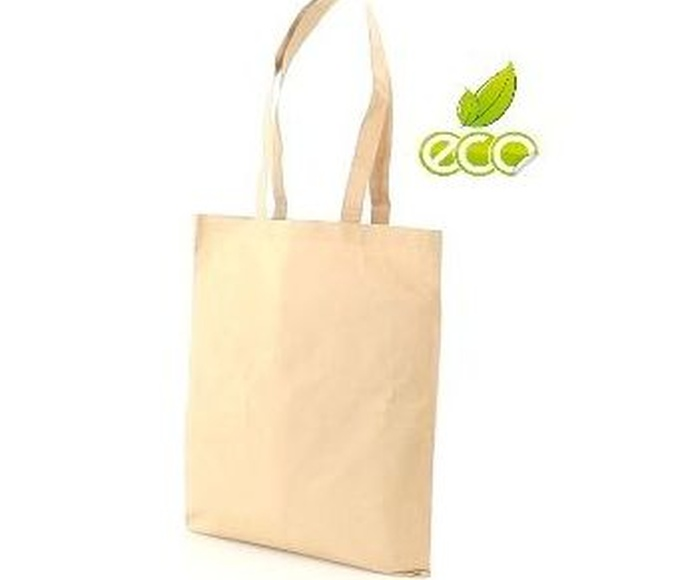 Bolsa ecológica en materiales de algodón y papel