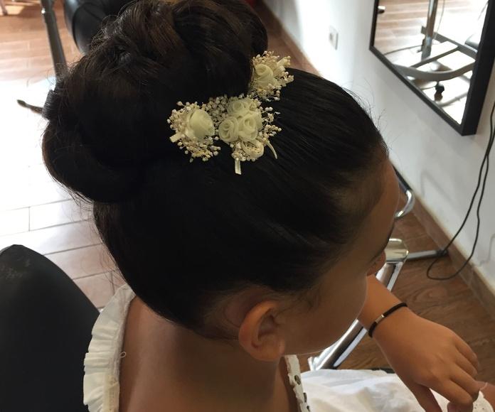 Peinados: Servicios de Peluquería Silvia