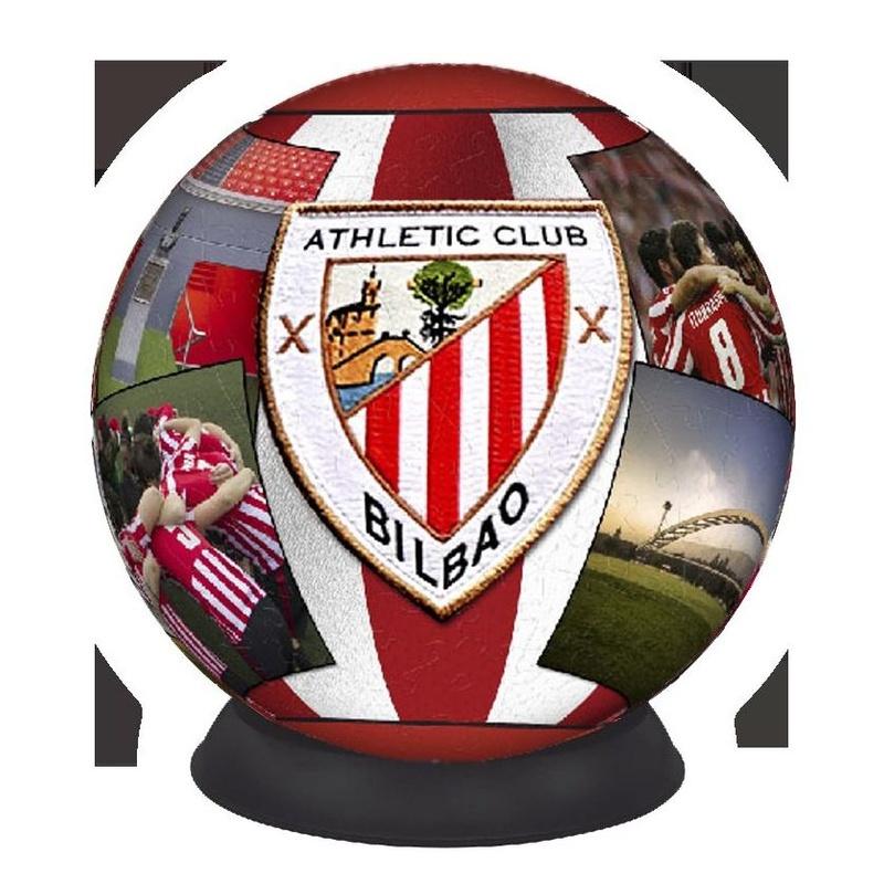 Puzzle balón 3D Athletic Club Bilbao