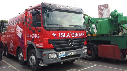 Servicio de grúa para camiones en Bilbao