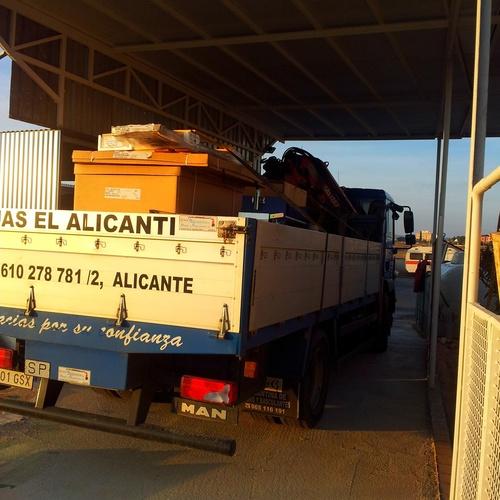 Grúas de gran tonelaje en Alicante | Grúas El Alicantí