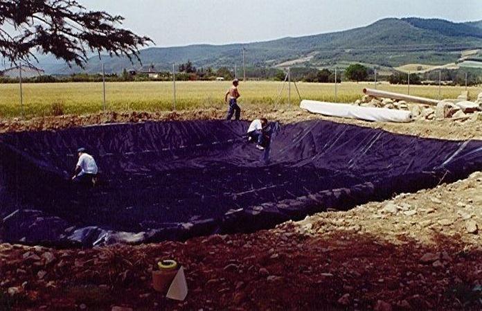 Balsas de agua: Servicios de Isfatec