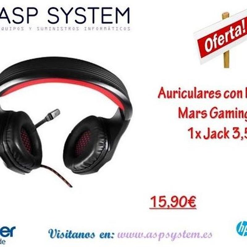 GAMING. EQUIPOS Y COMPLEMENTOS: Tienda Online de ASP System, S.L.