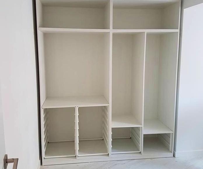 Instalación armario empotrado en Elche