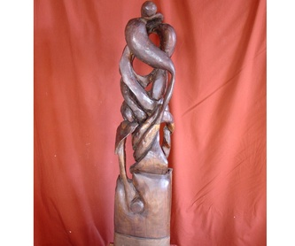 La gran ola: Esculturas de Antonia Dávalos
