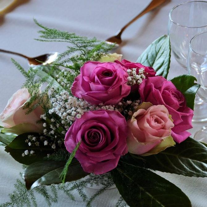 El alquiler de flores y plantas para eventos