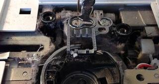 Mantenimiento de máquinas de coser