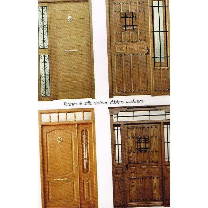 Puertas de calle: Carpintería en Cuenca de Carpintería Julián Martínez