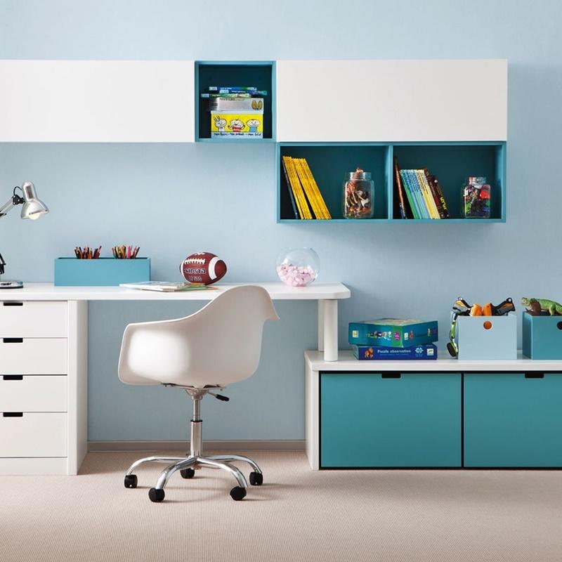 Zona de estudio para habitación juvenil: Colecciones de El Cuarto de Micky