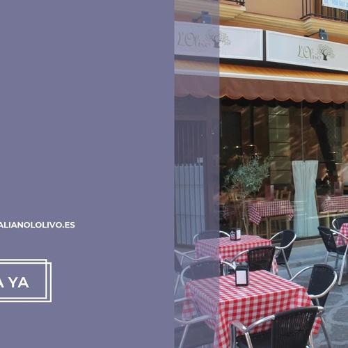 Restaurante pizzería en Utrera | L'Olivo