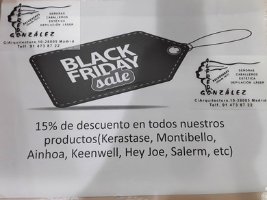 PREPÁRATE PARA El BLACK FRIDAY......