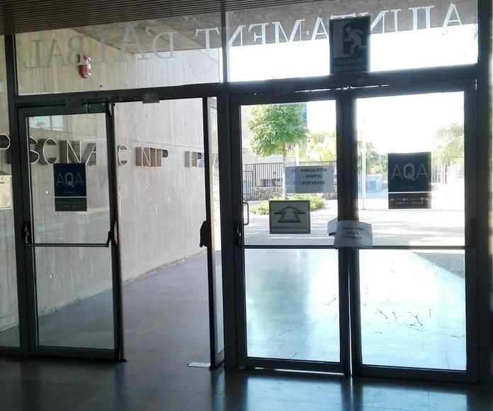 Puertas batientes por correderas automáticas
