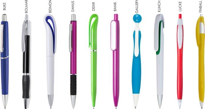 Bolígrafos impresos