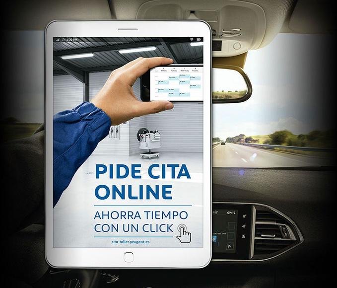 Cita On-line en su Servicio Oficial Peugeot