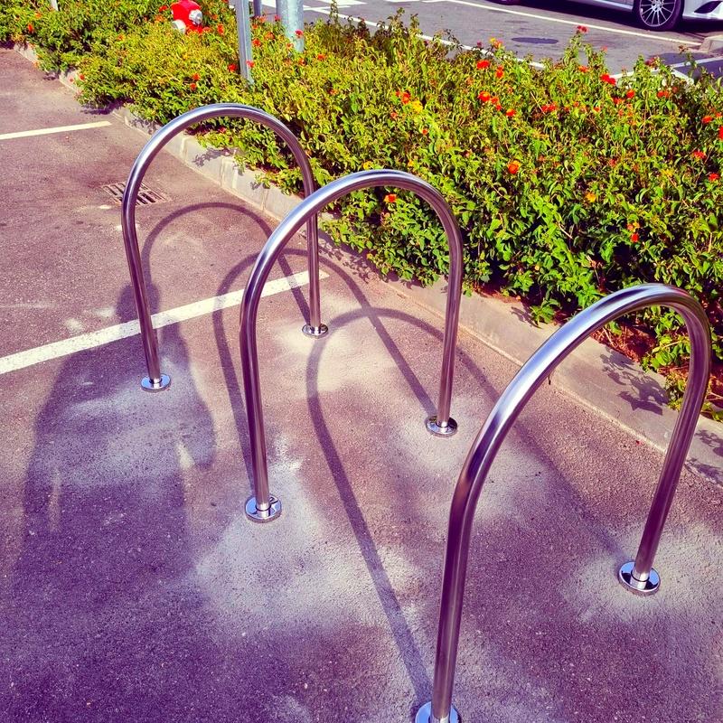 Soportes para bicicletas de acero inoxidable