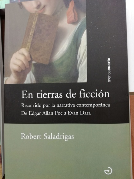 EN TIERRAS DE FICCION: RECORRIDO POR LA NARRATIVA CONTEMPORANEA DE EDGAR AL: SECCIONES de Librería Nueva Plaza Universitaria