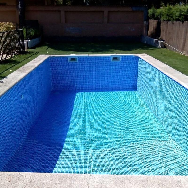 Mantenimiento de piscinas: Servicios de Ávila Espacios verdes