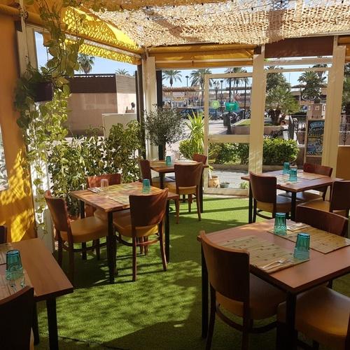 Restaurante con terraza en Fuengirola
