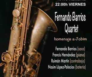 Fernando Barrios Quartet, homenaje a Jobim