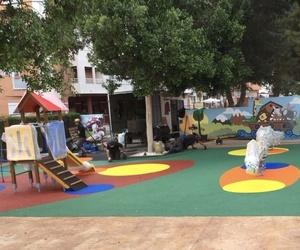 Montaje de parque infantil