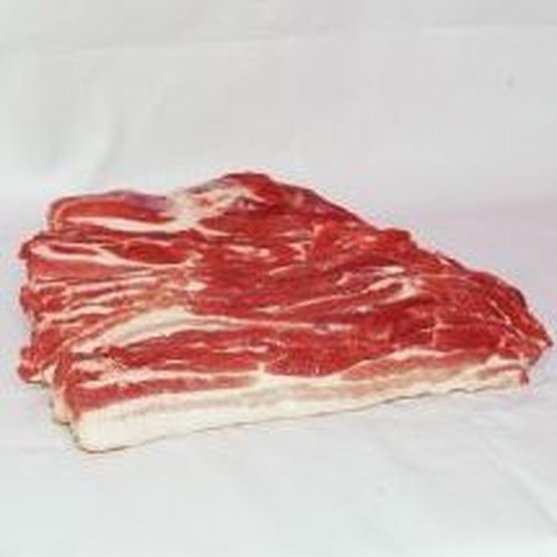 Panceta fresca fileteada: Productos de Cárnicas Huertos Moralejo