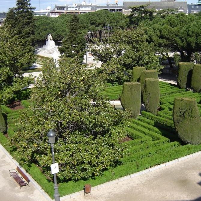 Algunos jardines de Madrid