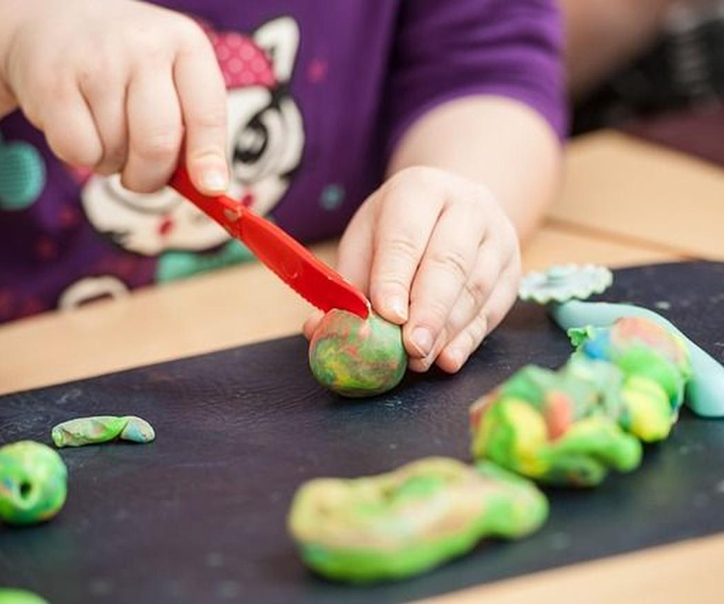 La plastilina y el desarrollo infantil