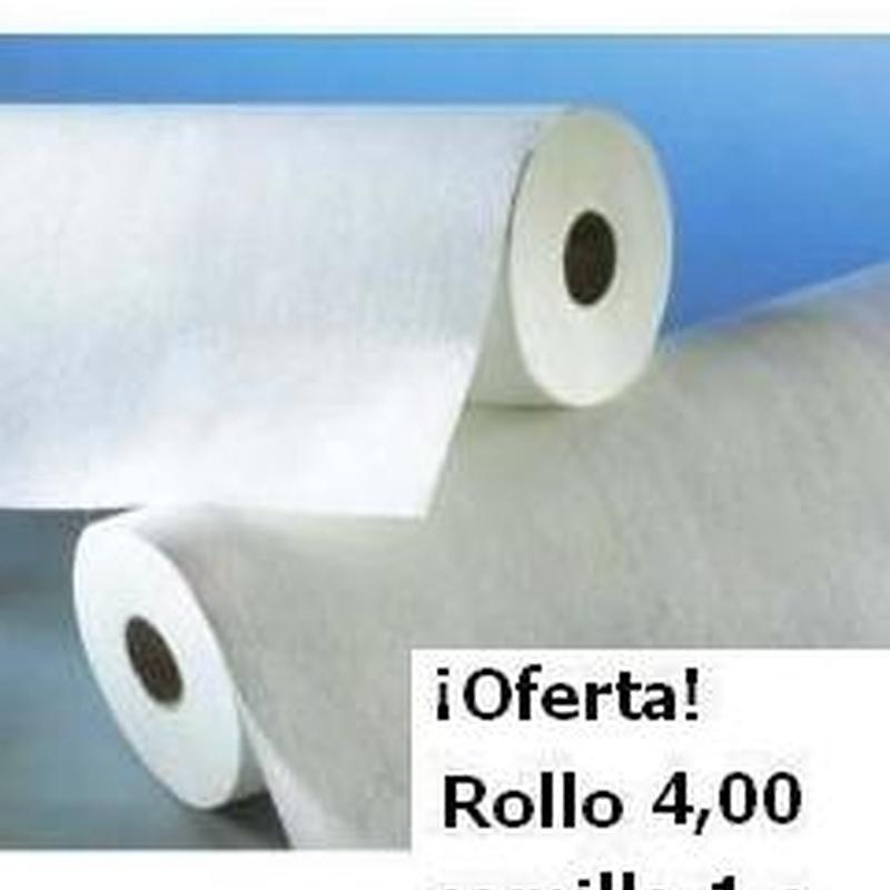 !OFERTA!  ROLLO CAMILLA 1CAPA  RIZADO   80M: Productos de PLUS CLINIC