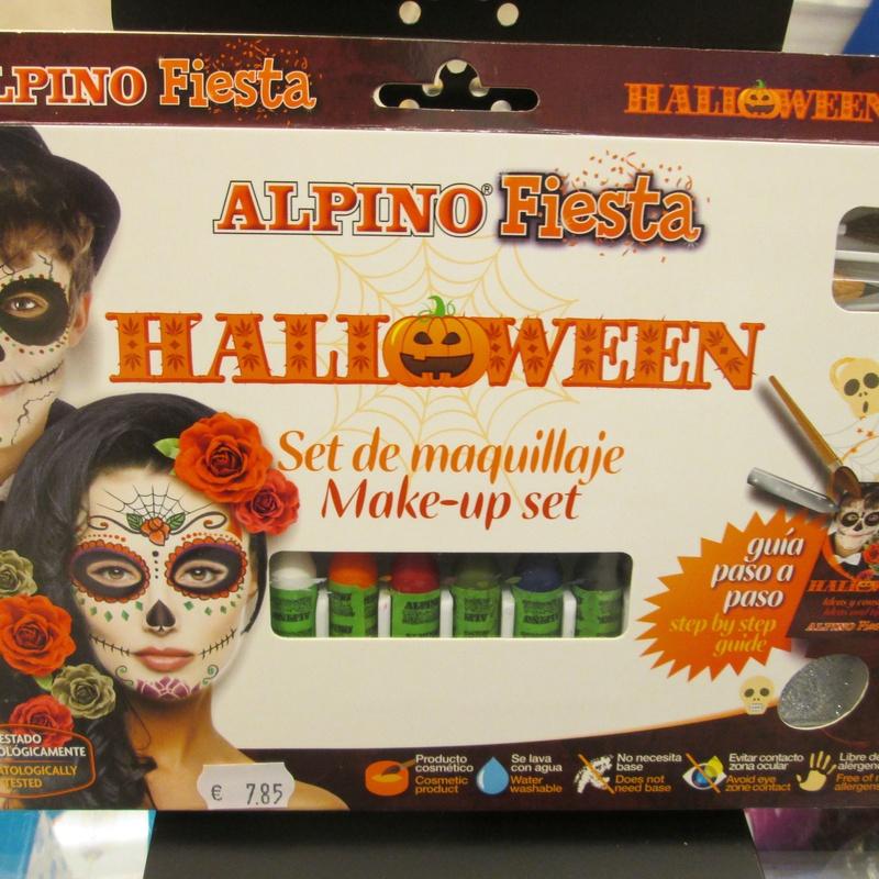 Set de maquillaje ALPINO HALLOWEEN