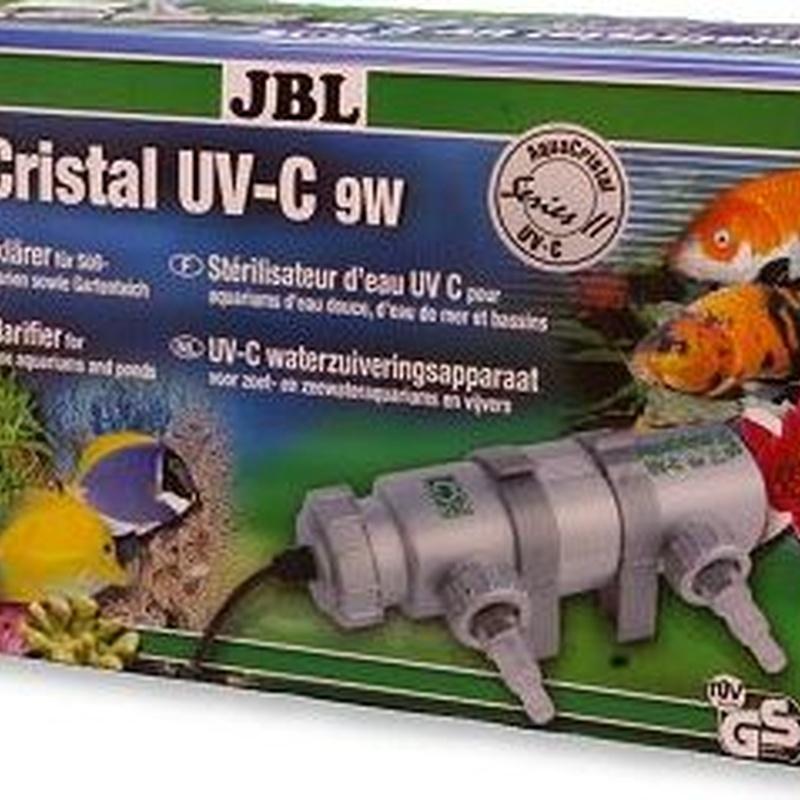 JBL AquaCristal UV-C 9W.
