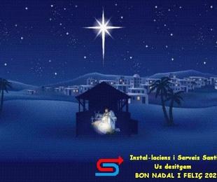 Bon Nadal i Feliç Any 2020