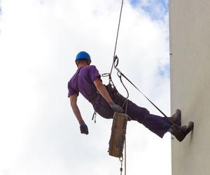 Trabajos verticales en fachadas en Móstoles