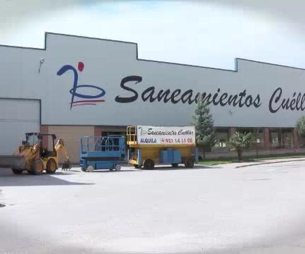 Alquiler de maquinaria de obra en Segovia: Saneamientos Cuéllar