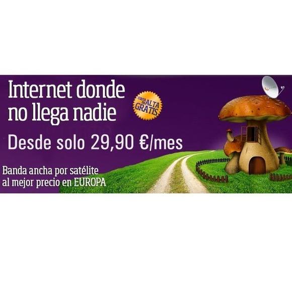 Internet por satélite: Servicios de Antenas Trinmer