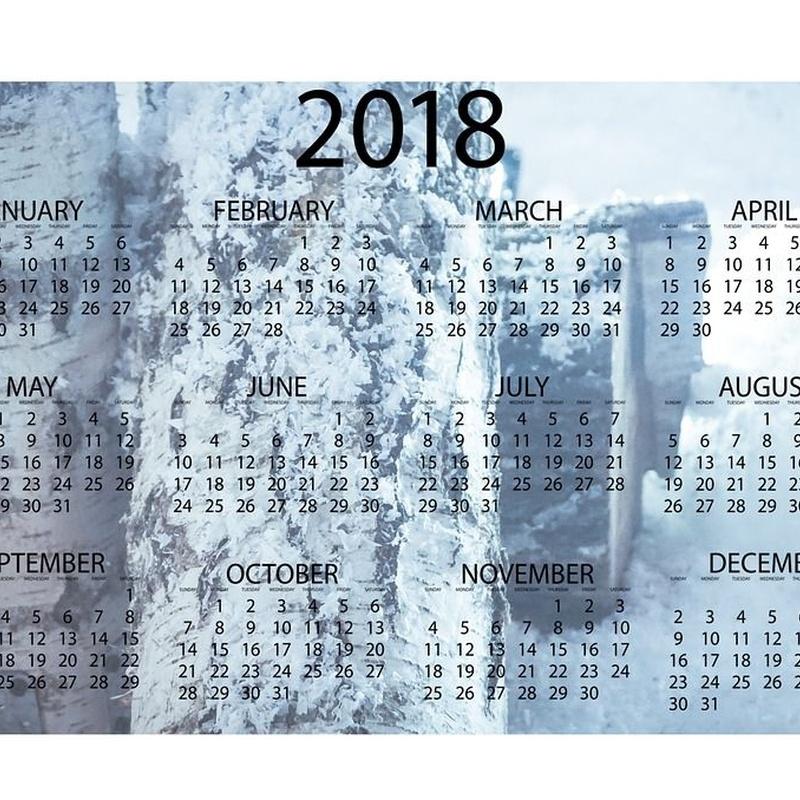 Calendarios: Catálogo de El Sastre De los Libros-Hifer Artes Gráficas