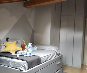 dormitorio infantil con estilo nórdico