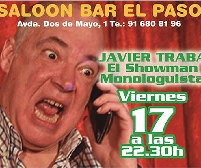 JAVIER TRABA  EN SALOON EL PASO