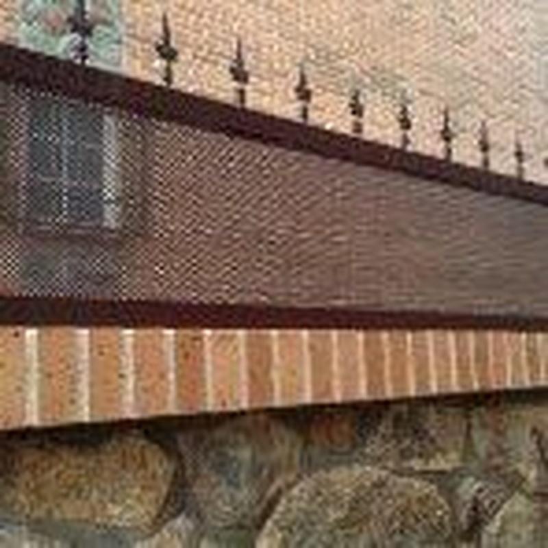 Valla suplemento de muro.